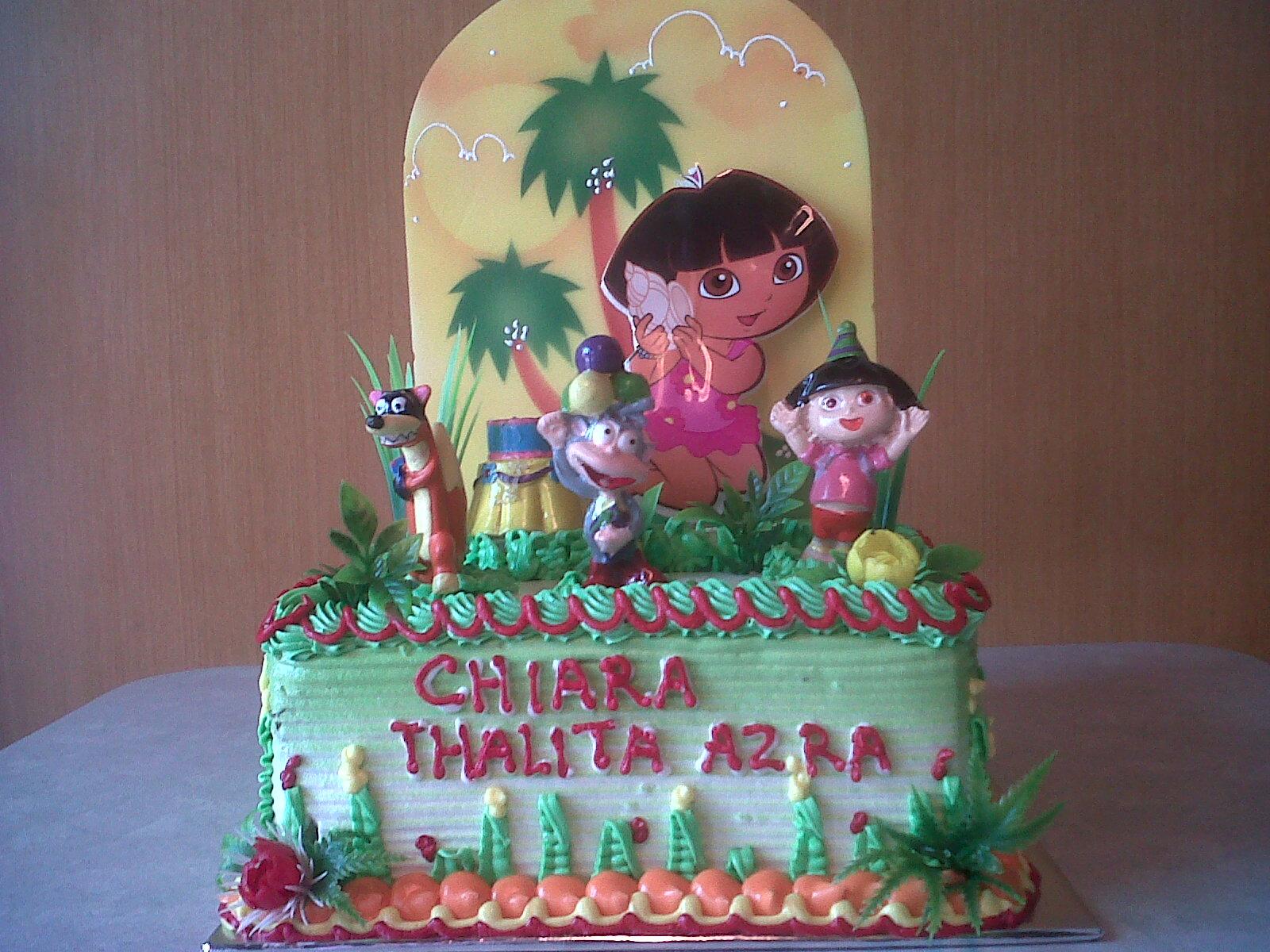 KUE ULANG TAHUN DORA BY SARIKAYA CAKES