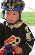 Mountainbike racer in the making!