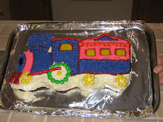 Cake Images For Pooja : Pin Another Fun Train Theme Birthday Cake Happy Pooja Cake ...