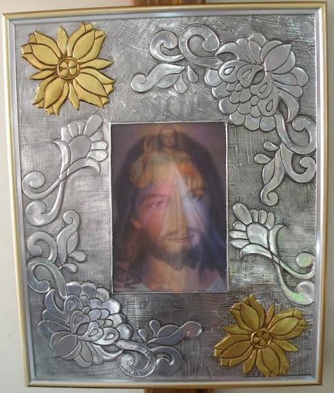 Cuadro Grande Jesús Misericordioso