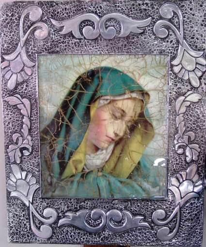 Cuadro de la Virgen La Dolorosa