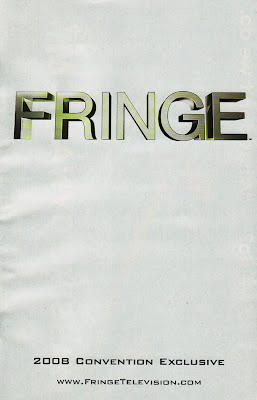 Fringe Comic-Con Preview Comic Cover