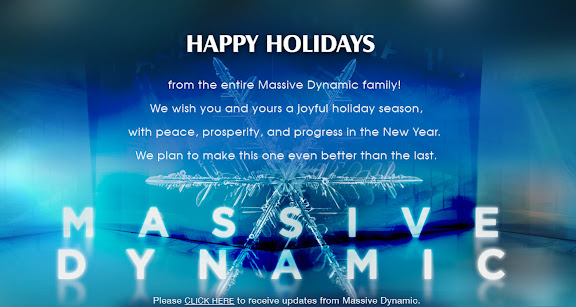 Happy Holidays From Massive Dynamic Email