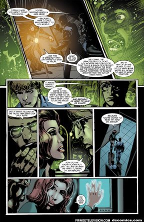 Fringe Comic #3, Page 1
