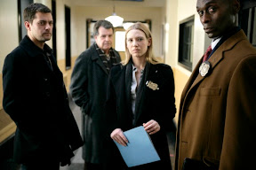 FRINGE: The investigation team (L-R: Joshua Jackson, John Noble, Anna Torv and Lance Reddick) takes on a case involving a mysterious young boy in the FRINGE episode 'Inner Child' airing Tuesday, April 7 (9:01-10:00 PM ET/PT) on FOX. ©2009 Fox Broadcasting Co. Cr: Craig Blankenhorn/FOX