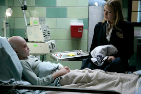 FRINGE: A mysterious young boy (Spencer List, L) helps Olivia (Anna Torv, R) with a string of murders in the FRINGE episode  'Inner Child' airing Tuesday, April 7 (9:01-10:00 PM ET/PT) on FOX. ©2009 Fox Broadcasting Co. Cr: Craig Blankenhorn/FOX