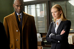 FRINGE: Olivia (Anna Torv, R) and Broyles (Lance Reddick, L) take on a case centered around a young boy discovered in an old building in the FRINGE episode 'Inner Child' airing Tuesday, April 7 (9:01-10:00 PM ET/PT) on FOX. ©2009 Fox Broadcasting Co. Cr: Barbara Nitke/FOX