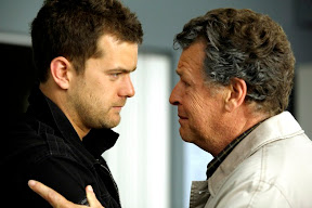FRINGE: Peter (Joshua Jackson, L) and Walter (John Noble, R) react to a terrible accident in the FRINGE Season Two premiere episode 'A New Day in the Old Town' airing Thursday, September 17 (9:00-10:00 PM ET/PT) on FOX. ©2009 Fox Broadcasting Co. CR: Liane Hentscher/FOX