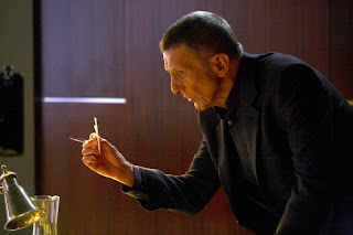 FRINGE: Leonard Nimoy returns as William Bell in the FRINGE episode 'Momentum Deferred' airing Thursday, Oct. 8 (9:00-10:00 PM ET/PT) on FOX. ©2009 Fox Broadcasting Co. CR: Liane Hentscher/FOX