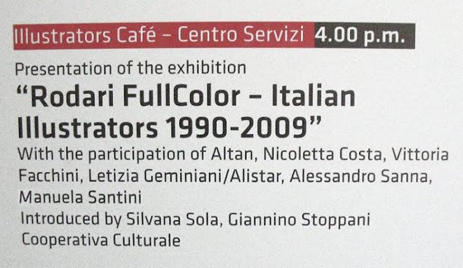 """Presentazione """"RODARI FULL COLOR"""" alla Fiera del libro per ragazzi di Bologna 2009"""