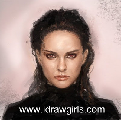 Learn how to draw and paint portrait
