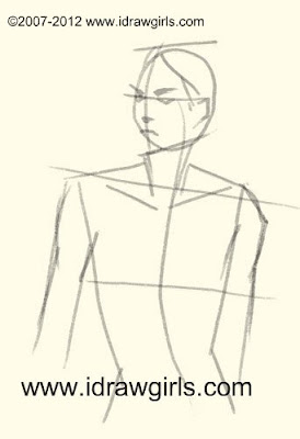 how to draw body, draw face, how to draw face,draw body, girl, step by step, draw, draw lesson, tutorial, draw manga, draw comics, drawing