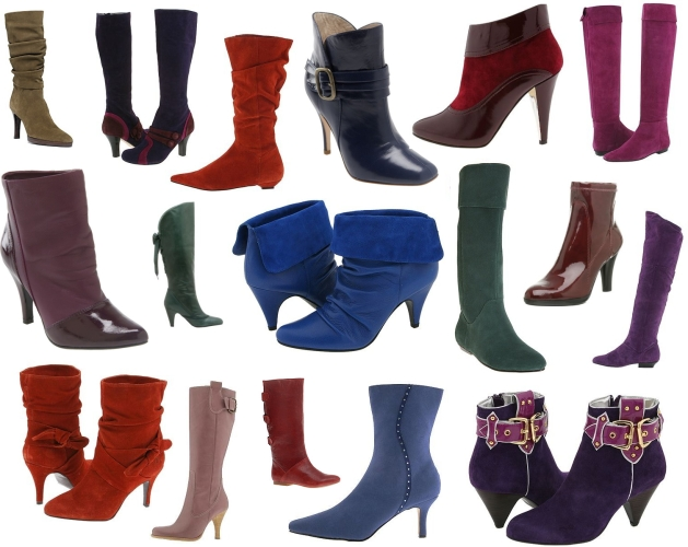 Colorful Winter Boots