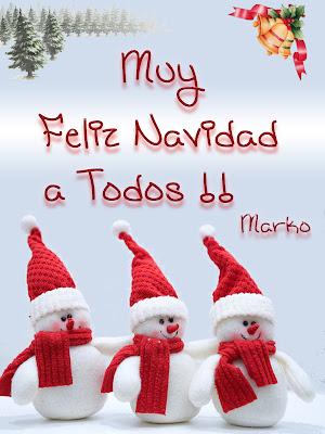 Muy Feliz Navidad a Todos!!