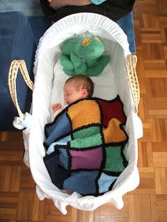 Baby Blanket in action