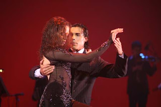 Dancers - Nelson Celis and Yanina Fajar