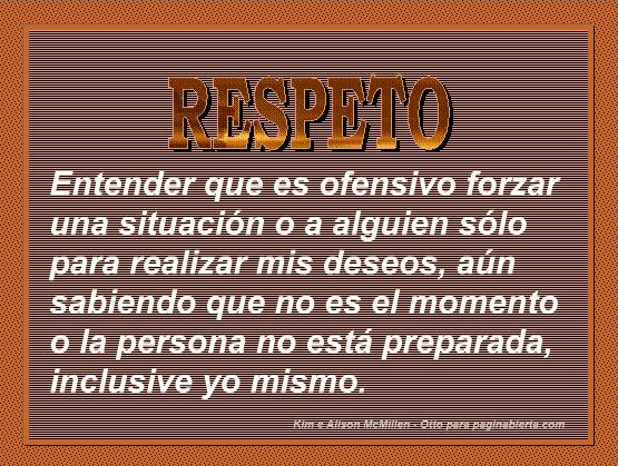 respeto