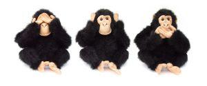 Jan Guillou och två andra apor