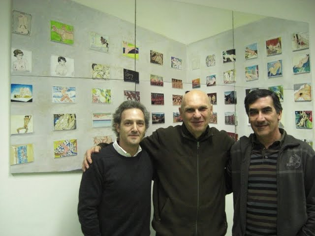 Robert with Paulo and Francisco