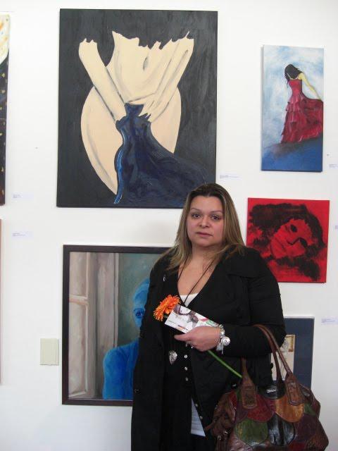 The Portuguese artist Teresa Duarte