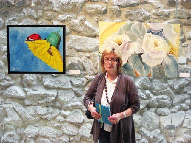 The artist Isabel Alfarrobinha
