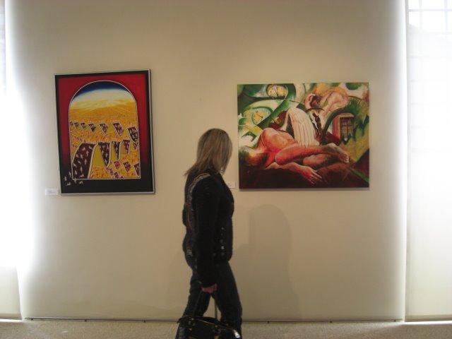 The works of Elisabete Silva and Santiago Ribeiro