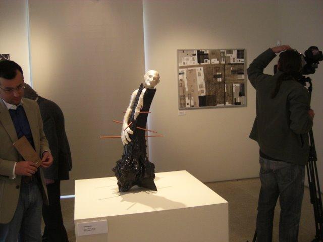 The work 'Sofrimento' of Pedro Prata
