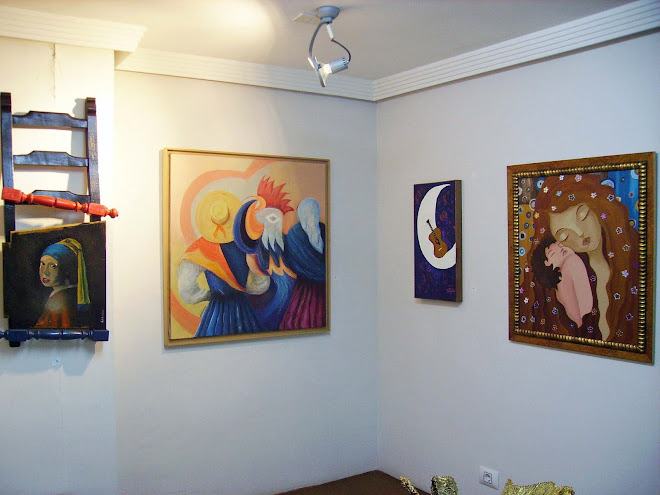 The works of Paulo, Célia, Tereza and Sónia