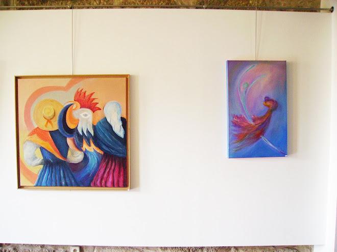 The works of Célia and Cristina
