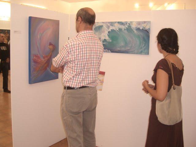The works of Cristina Mendonça and Isabel Alfarrobinha