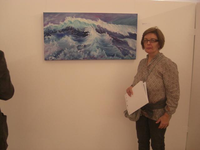Isabel Alfarrobinha with 'Tempestade'