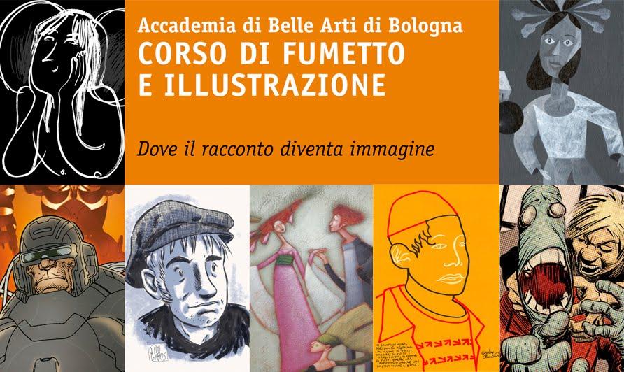 Corsi di fumetto e illustrazione dell 39 accademia di belle for Accademia delle belle arti corsi