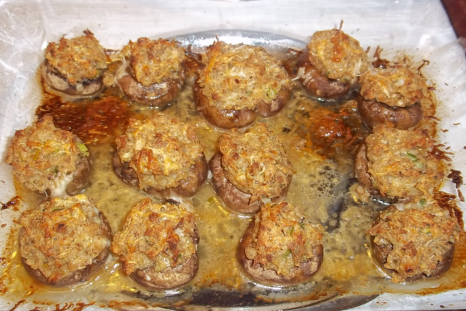 The Daily Smash: Olive Garden Stuffed Mushrooms ( copycat )