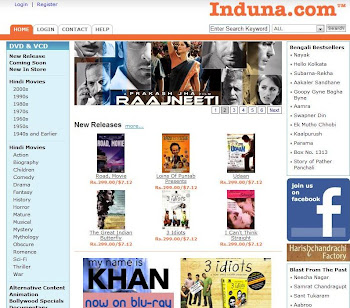 Buy Original Bollywood Dvds & Cds at Induna.com