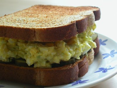 Global CookBook: Egg Salad Sandwich (Delicious Recipe)