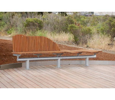 Outdoor Benches Wood on The Dyning Outdoor Bench Brings Natural Wood Elements To A Modern