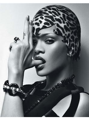 Rihanna en couv' de W