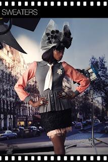 Georgie Badiel soo Parisienne pour Forever 21