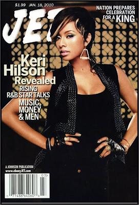 Keri Hilson en couv' de Jet Magazine