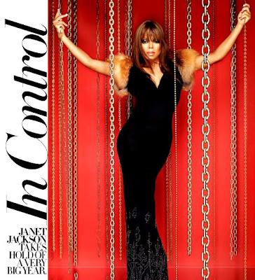 Janet Jackson en couv' de Gotham
