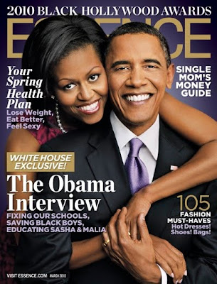 >Michelle & Barack Obama en couv' d'Essence Magazine