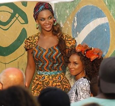 Alicia & Beyonce sous le soleil de Rio