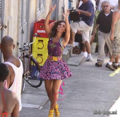 beyalaicia4 Alicia & Beyonce sous le soleil de Rio