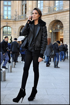 >Joan Smalls @ Paris Fashion Week
