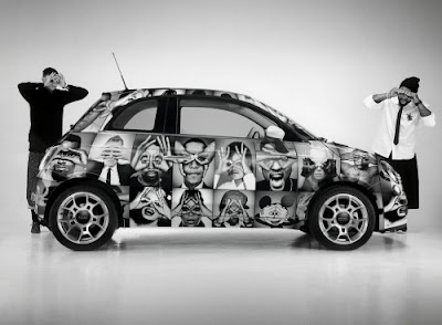 >HMN x Fiat 500 by Intersection magazine
