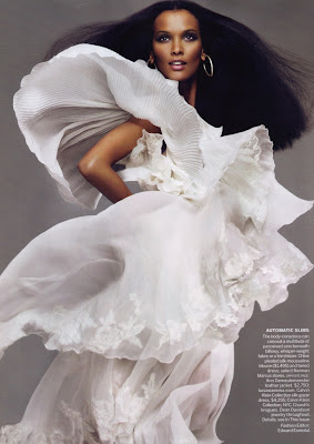 Liya Kebede pour Vogue US Avril 2010