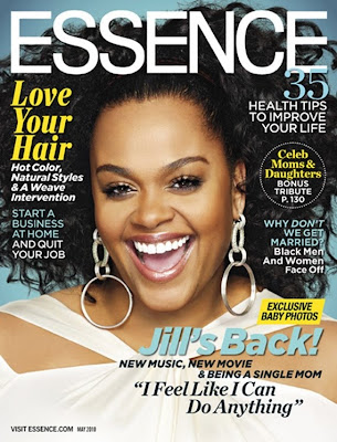 >Jill Scott en couv' d'Essence Magazine