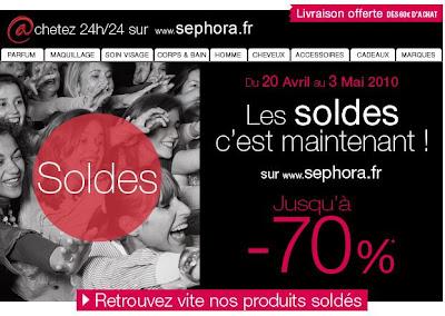 >Soldes Exceptionnelles chez Sephora
