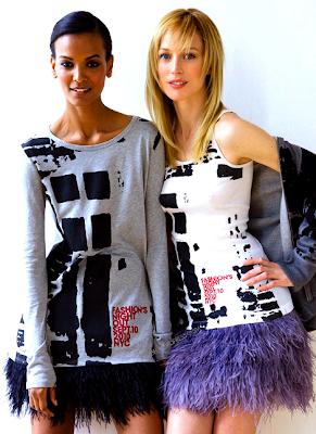 Liya Kebede pour Fashion's Night Out 2010
