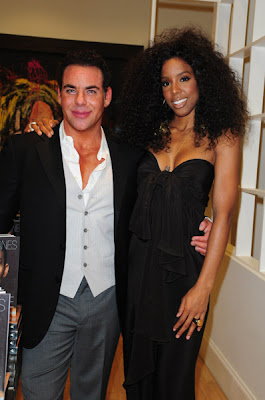 >Kelly Rowland en mode Diana Ross